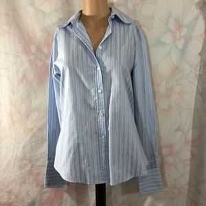CHARTER CLUB Button Down No Iron Long Sleeve Top 4